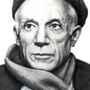 Pablo Picasso Poster by Murphy Elliott