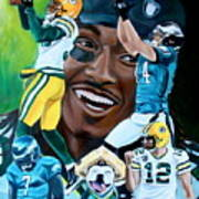 Packers  Glorious Moments Poster by Dawn Graham