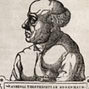 Paracelsus, Swiss Alchemist Poster by Middle Temple Library