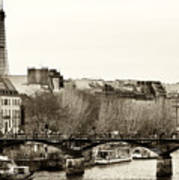 Paris Days Poster by John Rizzuto