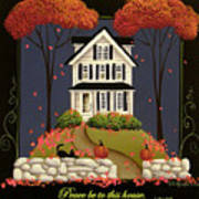 Peace Be To This House Poster by Catherine Holman