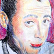 Pee Wee Herman  Poster by Jon Baldwin  Art