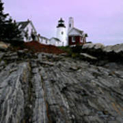 Pemaquid Light Poster by Timothy Johnson