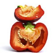 Peppers Poster by Bernard Jaubert
