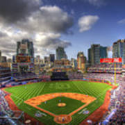 Petco Park Opening Day Poster by Shawn Everhart