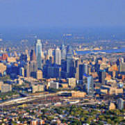 Philadelphia Aerial  Poster by Duncan Pearson