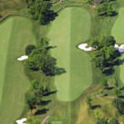 Philadelphia Cricket Club Militia Hill Golf Course 14th Hole Poster by Duncan Pearson