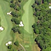 Philadelphia Cricket Club Militia Hill Golf Course 7th Hole Poster by Duncan Pearson