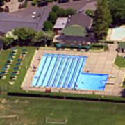 Philadelphia Cricket Club St Martins Pool 415 West Willow Grove Avenue Philadelphia Pa 19118 4195 Poster by Duncan Pearson