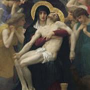 Pieta Poster by William Adolphe Bouguereau
