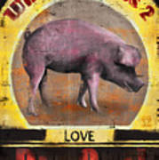 Pig Out Poster by Joel Payne