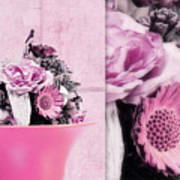Pink Poster by Angela Doelling AD DESIGN Photo and PhotoArt