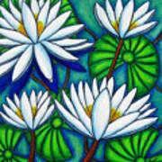 Pond Jewels Poster by Lisa  Lorenz