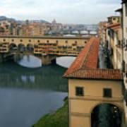 Ponte Vecchio Poster by Warren Home Decor