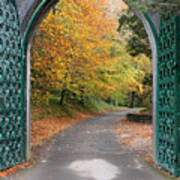 Portal To The Colorful Autumn Season Poster by Pierre Leclerc Photography