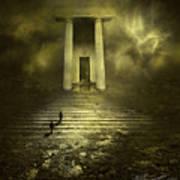 Portal Z Poster by Svetlana Sewell
