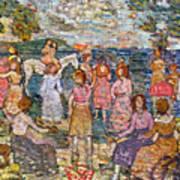 Prendergast: Beach, 1916 Poster by Granger