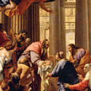 Presentation In The Temple Poster by Simon Vouet
