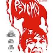 Psycho Poster by Ron Regalado