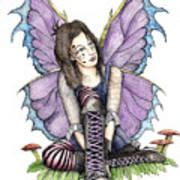 Purple Laces Poster by Preston Shupp