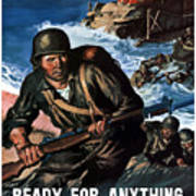 Ready For Anything - Thanks To You Poster by War Is Hell Store