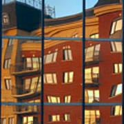 Reflection Le Selection Poster by Elisabeth Van Eyken