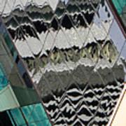 Reflections At Niagara Poster by Elizabeth Hoskinson