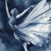 Rhapsody In Blue Poster by L Lauter