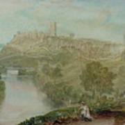 Richmond In Yorkshire Poster by Joseph Mallord William Turner