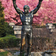 Rocky In Spring Poster by Bill Cannon