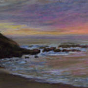 Romantic Shore Poster by Susan Jenkins