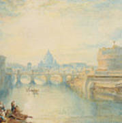 Rome Poster by Joseph Mallord William Turner