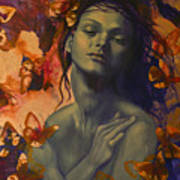 Rustle Poster by Dorina  Costras
