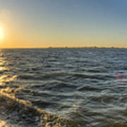 Sailing Sunset Poster by Dustin K Ryan