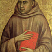 Saint Anthony Abbot Poster by Giotto di Bondone