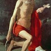 Saint Jerome Poster by Georges de la Tour