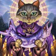 Saint Of Salmons Poster by Jeff Haynie