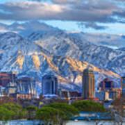 Salt Lake City Utah Usa Poster by Utah Images
