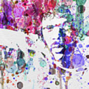 Samuel L Jackson Pulp Fiction Poster by Naxart Studio