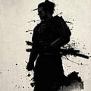 Samurai Poster by Nicklas Gustafsson