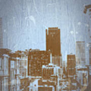 San Francisco 2 Poster by Naxart Studio