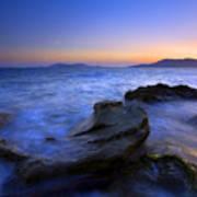 San Juan Sunset Poster by Mike  Dawson