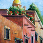 San Miguel De Allende Poster by Candy Mayer