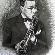Satchmo Poster by Toni  Thorne
