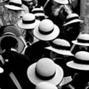 Sea Of Hats Poster by Avalon Fine Art Photography
