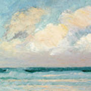 Sea Study - Morning Poster by AS Stokes