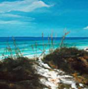 Seagrove Beach Florida Poster by Racquel Morgan
