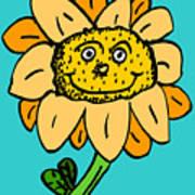 Senny The Sunflower Poster by Jera Sky
