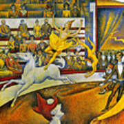 Seurat: Circus, 1891 Poster by Granger