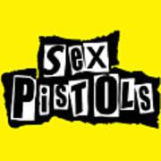 Sex Pistols Poster by Caio Caldas